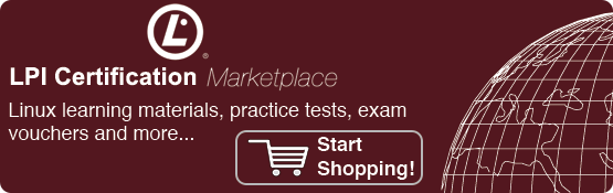 LPI Certification Marketplace: Linux learning materials, practice tests, exam vouchers and more...